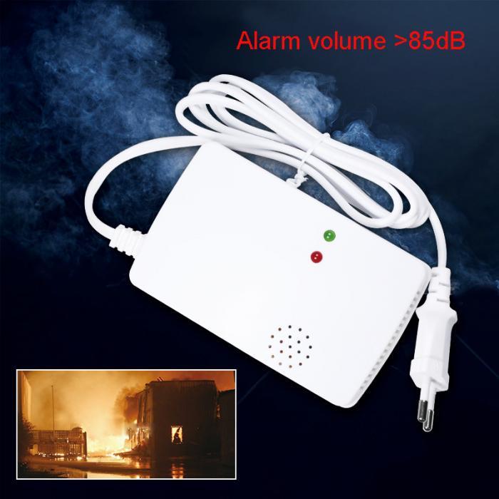 Высокочувствительный независимый детектор газа сигнализация детектор утечки газа для домашней безопасности 899