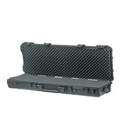 Длинный размер 1066*343*133 мм водонепроницаемый открытый пластиковый кейс для пистолета с неразрезанной пеной внутри