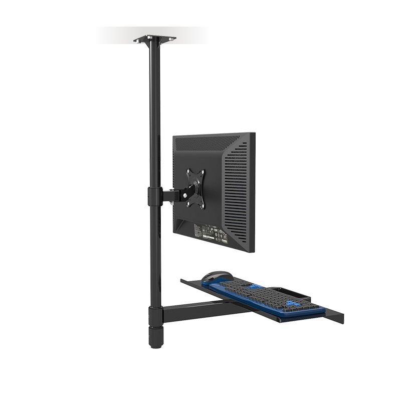 Customized Ceiling Mount Sit-Stand Workstation Full Motion Monitor Holder +Keyboard Holder Assembly Line Work Station naillook переводные татуировки для тела 20 8 см х 14 8 см 20844