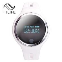 TTLIFE Водонепроницаемый Bluetooth Smart Браслет Шагомер Фитнес трекер синхронизации Браслет для Android и IOS Smart Band Носимых устройств