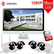 IMPORX 4CH 1080P Wireless 16