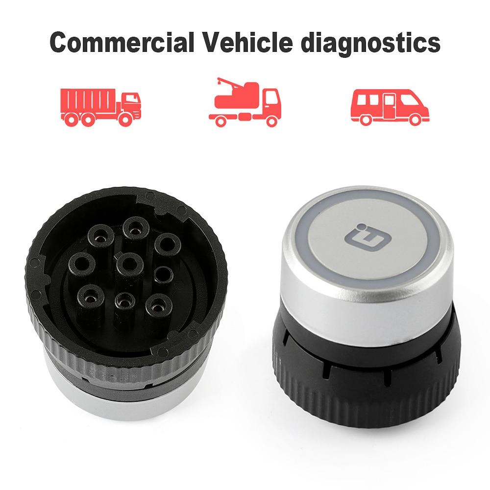 Original Xtuner Cvd 9 Diesel Truck Scanner J1708 J1939 Bluetooth International 4700 Wiring Diagram Diagnostic Tools For Benz Volvo Iveco Daf Obd 2 In Engine Analyzer From