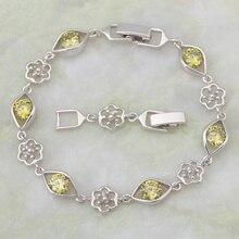 Brand designer Gold Bracelets & bangles green zircon stone fashion jewelry 20.5cm 8.07 inch Free Shipping B014