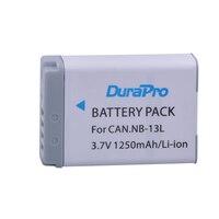 1PCS 3.6V 1250mAh NB 13L NB13L NB 13L Digital Camera Battery For Canon G7 X Mark II G7X PM165 G5 X G5X G9 X G9X SX620 SX720 HS