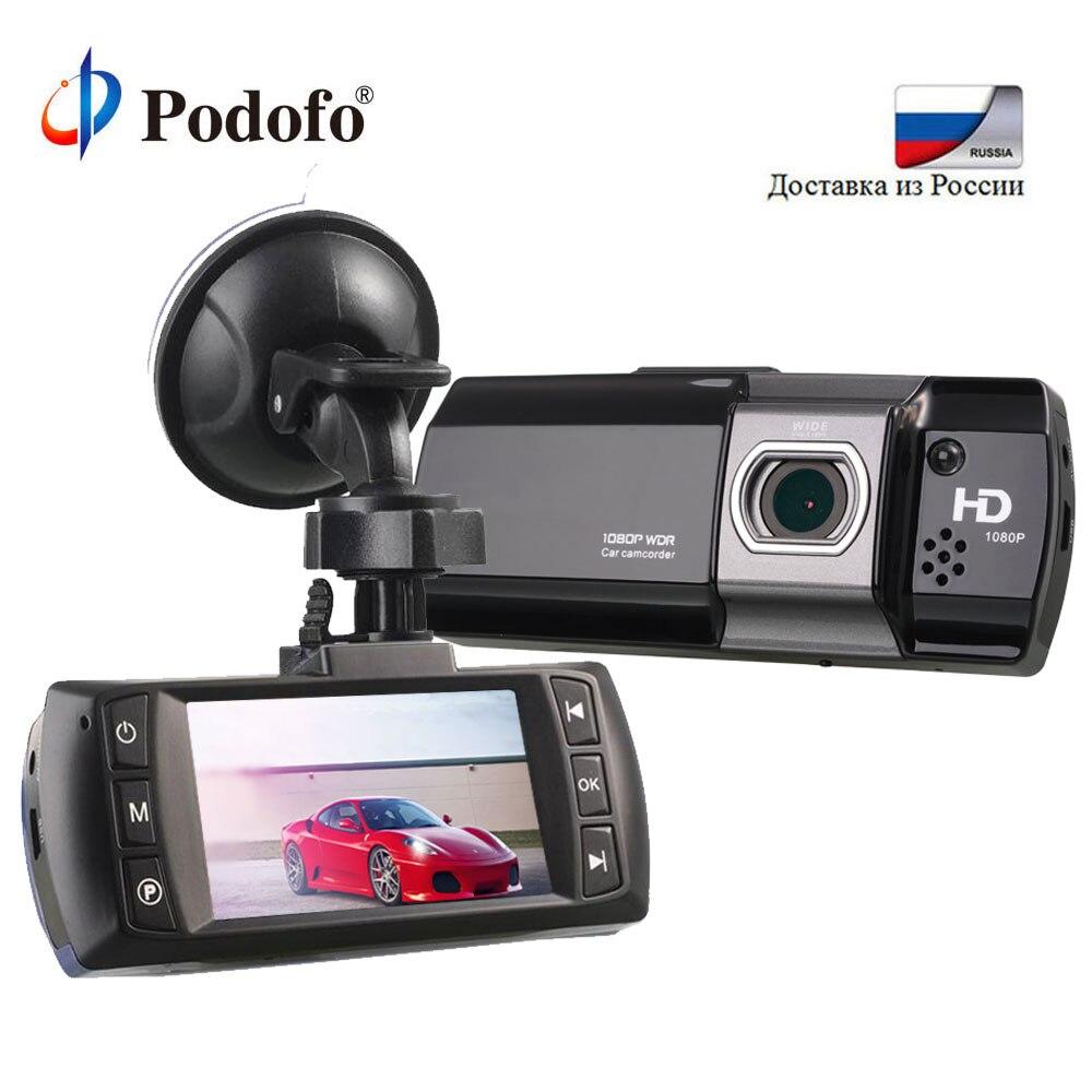 Podofo Novatek 96650 Car DVR Camera AT500 DVRS Full HD 1080P Video Registrator Recorder HDR G-sensor Night Vision Dash Cam цена