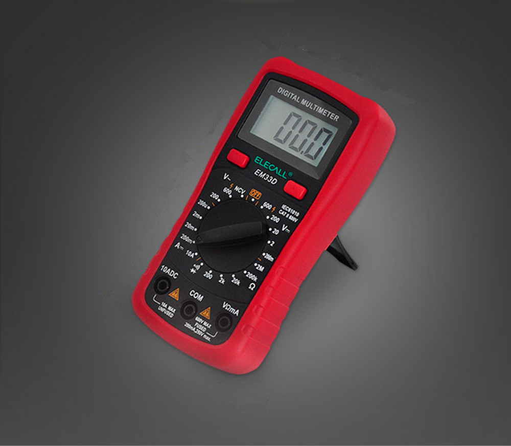 Compact high-precision multimeter with pen LED Display Digital Meter NCV Detector DC AC Voltage Current Meter Resistance Diode
