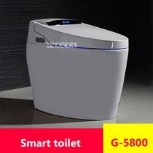 G-5800 полностью автоматический Флип-сиденье для унитаза Дистанционное Управление интеллигентая(ый) туалет высокого качества бытовой умная унитаза с подогревом 220V 1650W