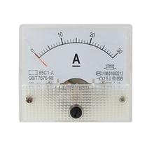 85C1 Аналоговый Токовый Panel Meter DC 30A AMP Амперметр