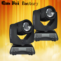 2pcs/lot 230w beam 7R double prism moving head beam lighting sharpy 7r beam 230w moving head lights double prism stage light