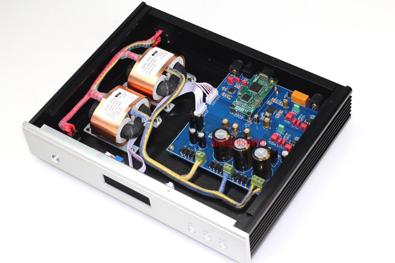 Hi end AKM DAC Amanero usb DAC Support DSD  L8-31 AK4497EQ LME49710 Decoder