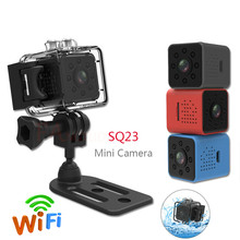 SQ23 WIFI mini Camera small cam 1080P video Sensor Night Vis