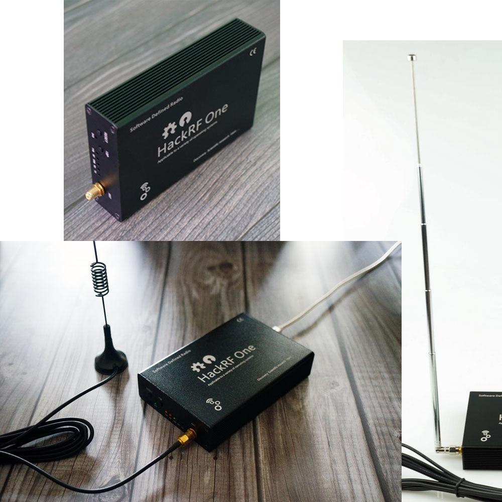 Купить с кэшбэком HackRF One usb platform reception of signals RTL SDR Software Defined Radio 1MHz to 6GHz software demo board kit dongle receiver