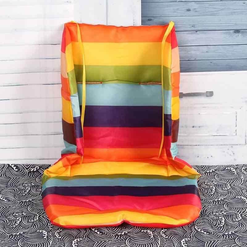 รถเข็นเด็กทารก Cushion สีสันสดใสนุ่มที่นอนรถที่นั่งรถเข็นเด็กเก้าอี้สูง Pram รถรถเข็นเด็กอุปกรณ์เสริม
