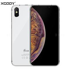 19:9 сенсорный экран XGODY Fluo N 4G разблокировка 5,7 дюймов смартфон Android 8,1 Oreo четырехъядерный 3 ГБ + 32 ГБ Лицо ID мобильный телефон 2500 мАч