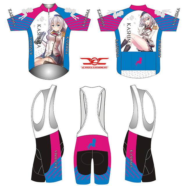 Crossrider 2018 Mens Short Sleeve Cycling Jersey Set MTB Cartoon Bike Wear  Breathable Cycling Clothing Quick-Dry Bicycle Clothes 8af2cf33f