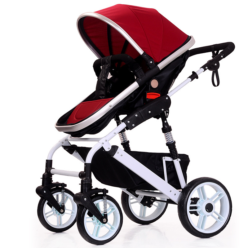 baby strollers ultra-lightweight folding Can change direction can sit can lie high landscape umbrella baby trolley eu ru no tax baby strollers lightweight folding umbrella stroller can sit can lie ultra light portable baby strollers for dolls