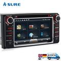 A-Sure 2 Din GPS DVD RDS Radio player Sat Nav Navigation for TOYOTA HILUX RAV4 Land cruiser PRADO CAMRY Previa Corolla 3G