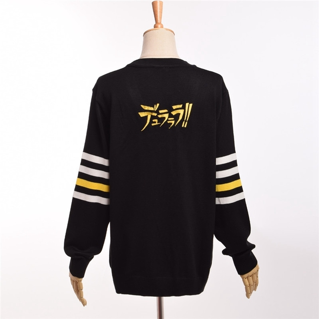 Аниме вязаный свитер Дюрарара 5