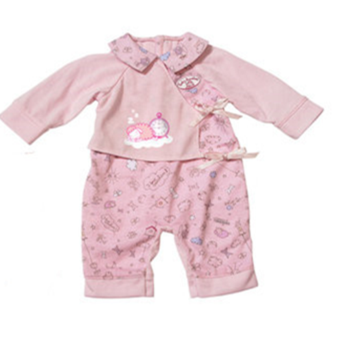 1set  leisure pajamas  wear fit 43cm Baby Born zapf,  Children best  Birthday Gift(only sell clothes) 2color choose leisure dress doll clothes wear fit 43cm baby born zapf children best birthday gift only sell clothes