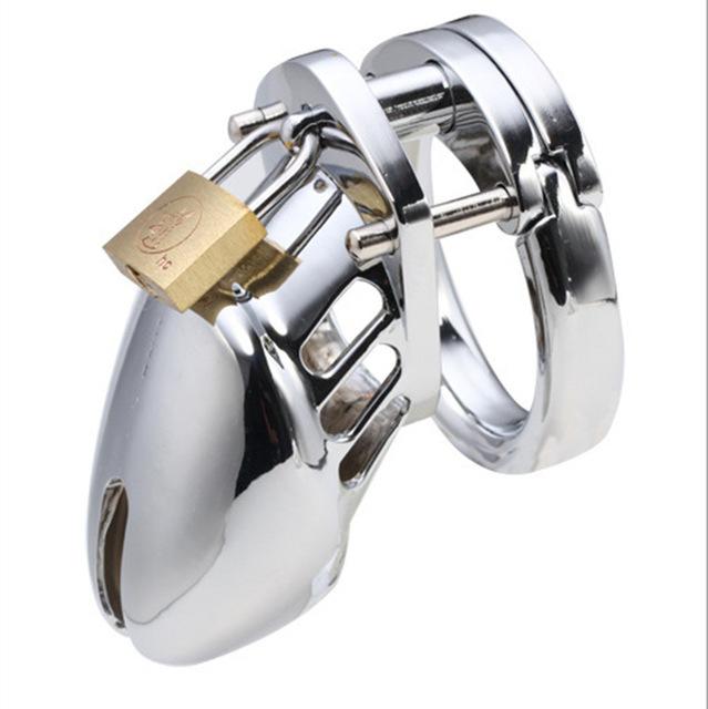 Exquisite aço gaiola castidade cb6000s aço inoxidável masculino castidade cinto de castidade gaiola de metal castidade caralho anel