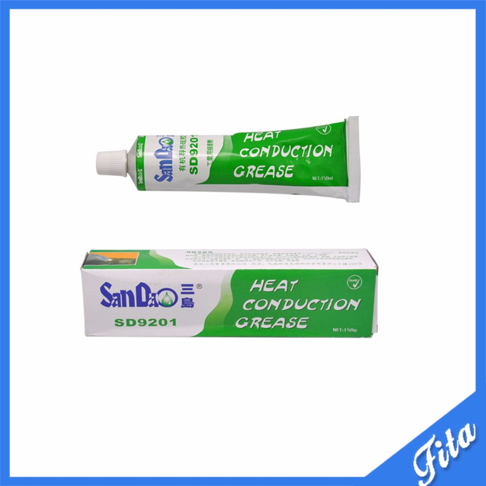 SD9201 Heat Sink Heatsink Conductive Grease Thermal Paste Compounds Sticky Glue Heat Conduction Grease Free Shipping