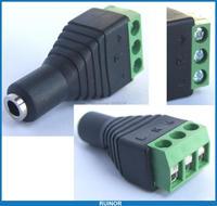 50pc Stereo 3.5mm Female socket Screw Terminal Binding Post for Audio Headphones