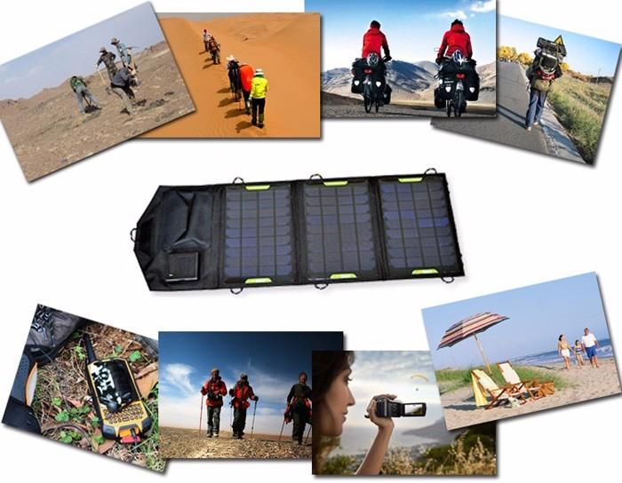 Sun energy charger