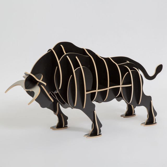 Superbe Wood Craft Bull Coffee Table Book Shelves Bull Desk Bull Table Wood Furniture  Cow Neat Bossy