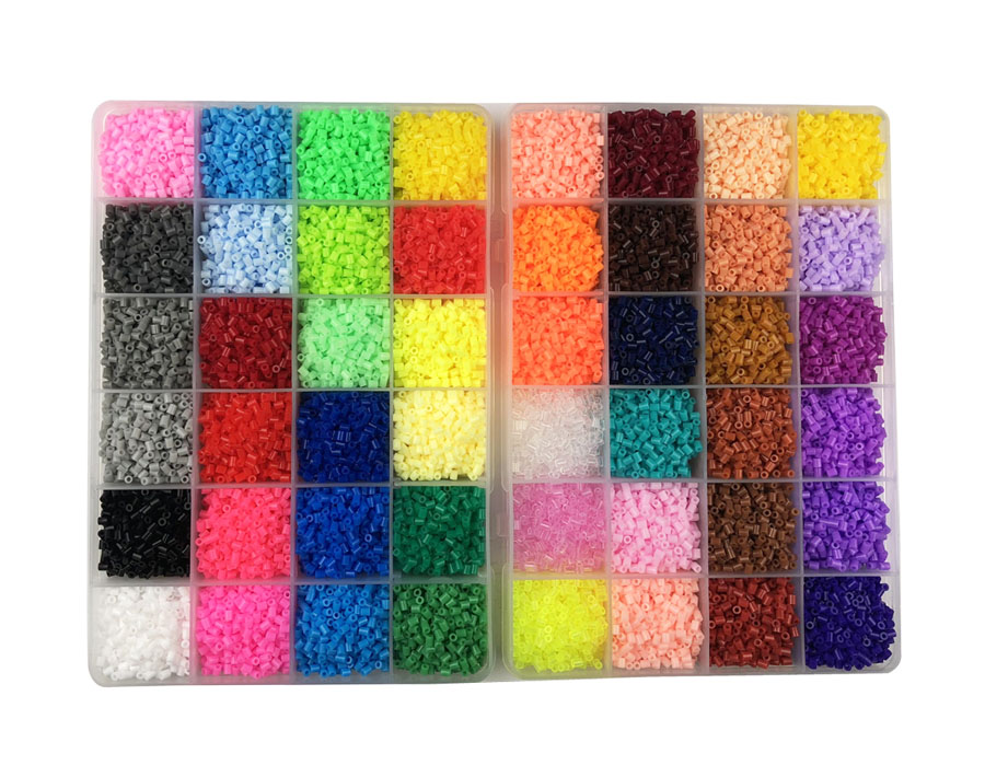 48 Colors 26,000pcs 2.6mm Hama beads with Storage Box Kids Education Diy Toys 100% Quality Guarantee New Fuse Perler Beads