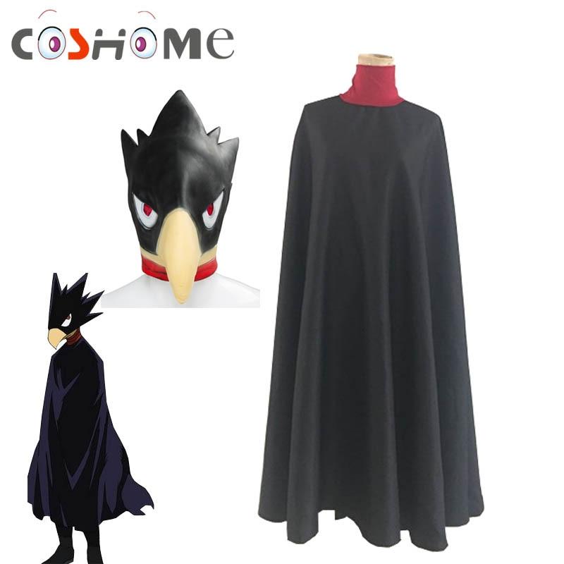 US My Boku No Hero Academia Tokoyami Fumikage Bird Mask Cosplay Costume Prop