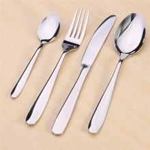 NEW!!!Dinnerware Set Quality Flatware Food Grade Stainless Steel Cutlery Set Knife Fork Spoon Tea Spoon Family Tableware Gift