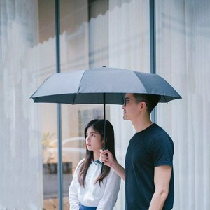 Image 2 - Youpin Automatic Rainy umbrella Sunny Rainy Summer Aluminum Windproof Waterproof UV Parasol Sunshade Man Woman