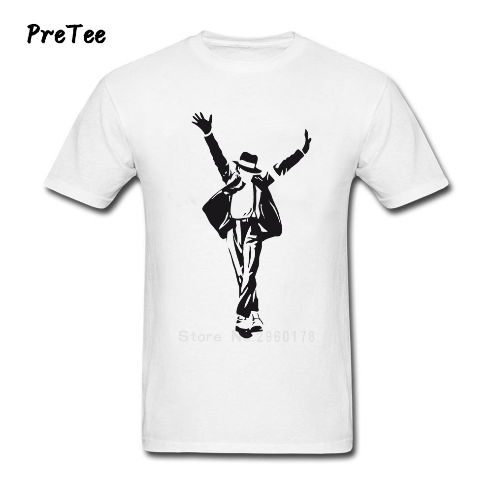 Black t shirt michaels - Michael Jackson T Shirt Boy Rock Cotton Men Short Sleeve Male Crew Neck Guy Tshirt Teens Costume 2017 Fashion T Shirt For Man