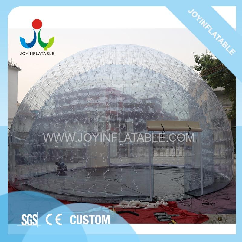 Tente de dôme claire étanche à l'air de Dia 10 M gonflable de joie pour l'événement de noce