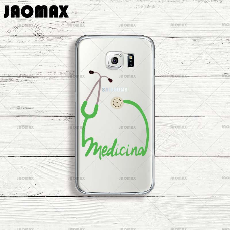 Phone Bags & Cases Jaomax Cute Wine Heart Medical Doctor Case For Samsung Galaxy J7 A3 A5 Note 8 3 4 5 J3 J5 Transparent Silicone Back Phone Cover