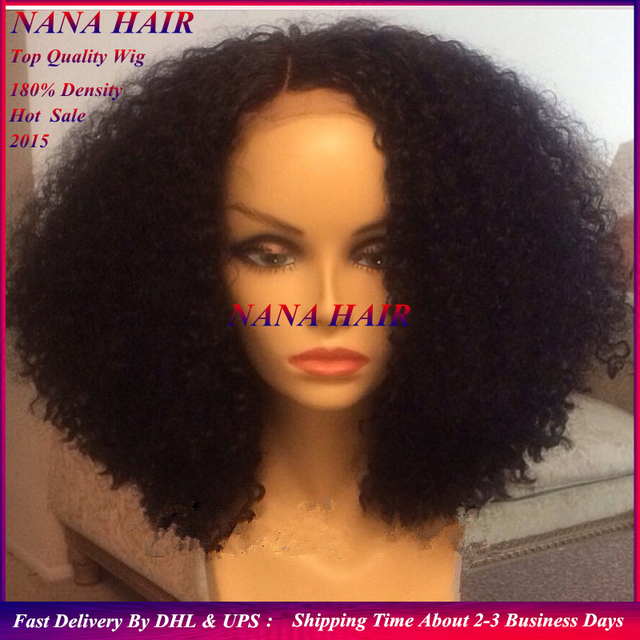 Cheap synthetic wig.afro kinky curly short wigs.Braided Glueless Lace Front  Wig heavy density lace front wigs for black women 27bc6bcc3f