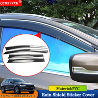QCBXYYXH Car Styling Car Awnings Shelters Window Visors Sun Rain Shield Stickers Covers Accessories Fit For