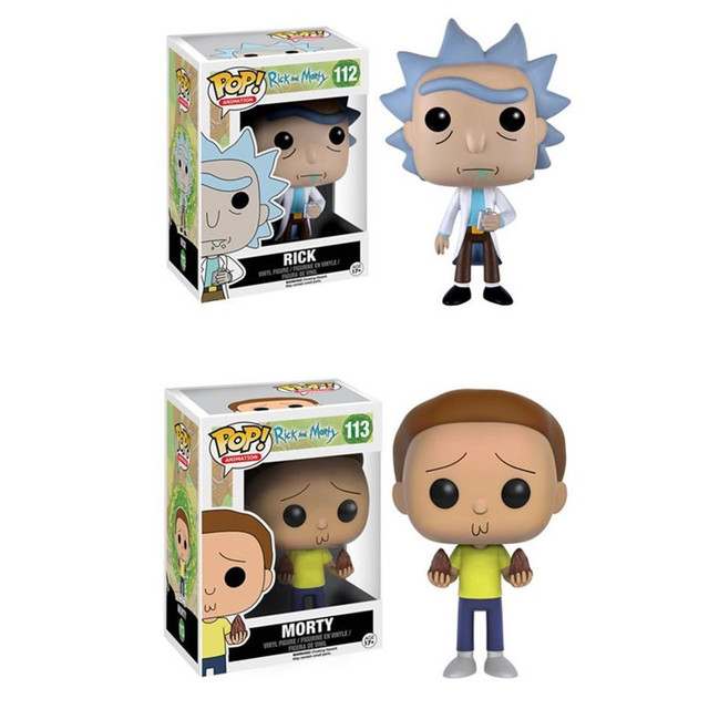 FUNKO POP Rick and Morty 10CM action Figure Collection PVC Model Toy for kids christmas gift