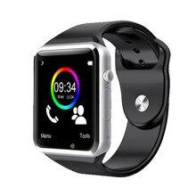 Smartwatchs A1 Bluetooth Смарт часы наручные часы Спорт Шагомер с SIM Камера SmartWatch для Android-смартфон России T15