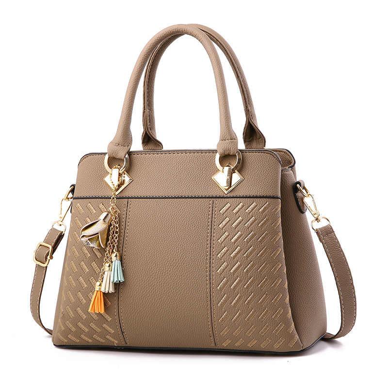 Top-handle Bags Com Cinta Genuíno Couro De Couro Clássico Tote Sacos Bolsos Mujer Mulheres Bolsas de Luxo Senhora de Couro Mão n258