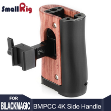 Get more info on the SmallRig DSLR Camera NATO Handle Camera Cage Handle Side Grip for BMPCC 4K Camera and for Samsung T5 SSD 2270