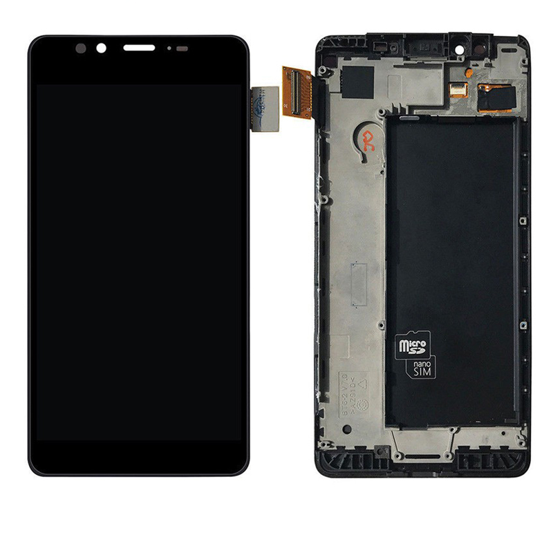 "For Microsoft Nokia Lumia 950 LCD Display Touch Screen Digitizer Assembly With Frame RM-1106 Replacement For 5.2"" Lumia 950"