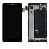 For Microsoft Nokia Lumia 950 LCD Display Touch Screen Digitizer Assembly With Frame RM 1106 Replacement