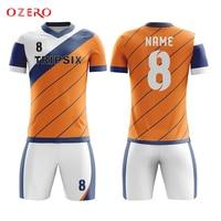 Diy voetbal uniform volledige sublimatie digital printing