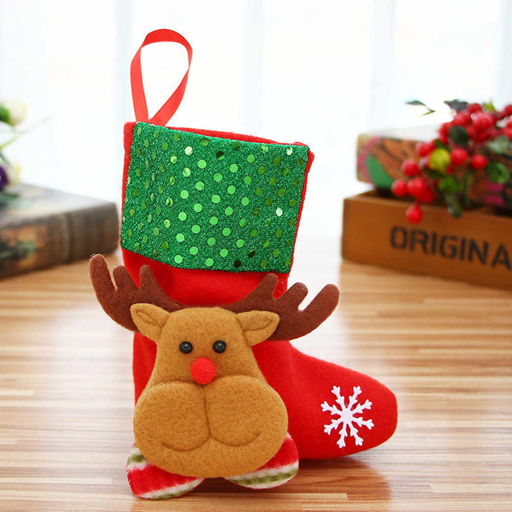 Detail Feedback Questions about Cute candy bag gift containers Christmas  Tree Ornament Dinnerware Cover Candy bags Santa Claus Snowman gift candy bag  ... ebafddc79cd99