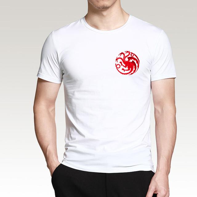 Game of Thrones Targaryen Fire & Blood Cotton Short Sleeve Men's T-Shirt