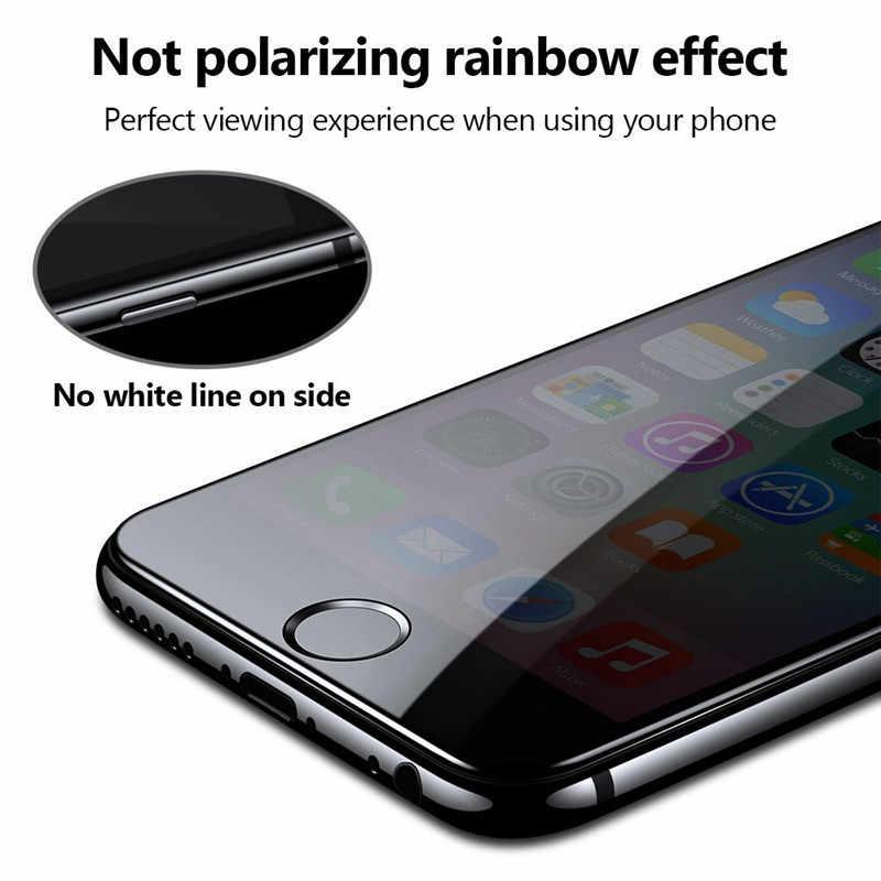 מלא כיסוי 3D מזג זכוכית עבור iPhone 6 בתוספת 8 7 X מגן משקפיים עבור iPhone X i8 i7 i6 בתוספת i6plus מסך מגן סרט