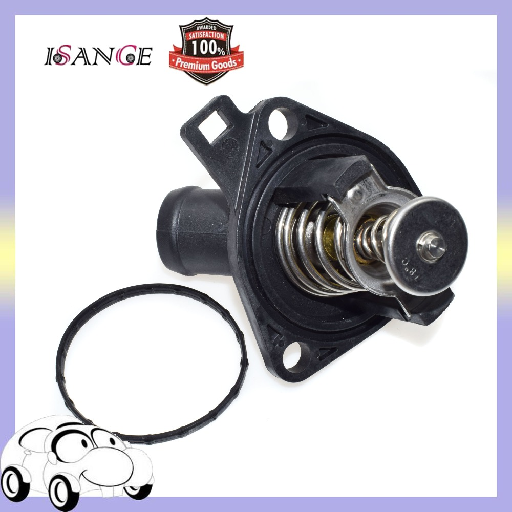 ISANCE Engine Coolant Cooler Thermostat 19301RAF003 For