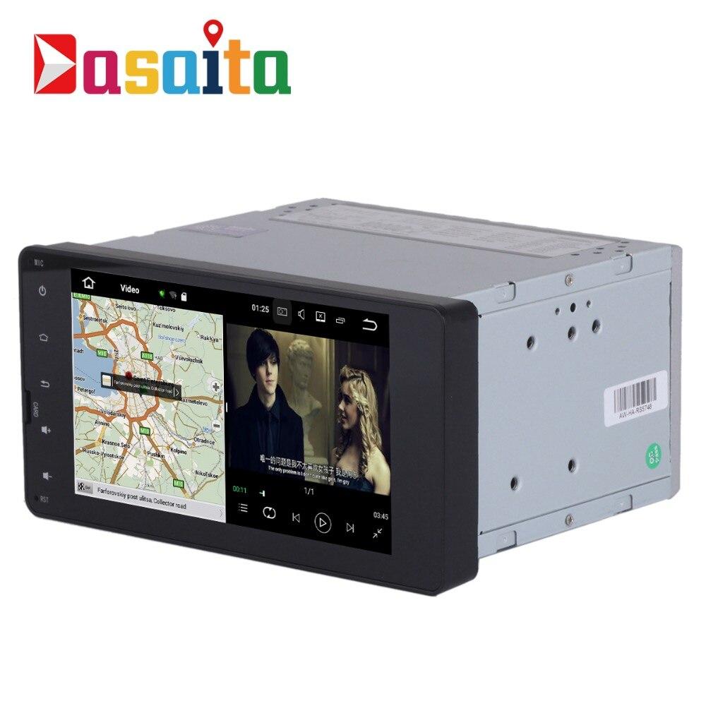 Android 7.1 stéréo Autoradio pour Mitsubishi OUTLANDER LANCER-X ASX 2015 + Permanent radio navi GPS Radio wifi carte Tête dispositif