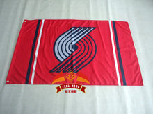 Portland Trailblazers flag 3×5 FT 150X90CM Banner 100D Polyester NBA flag , free shipping